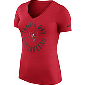 Nike Women's Tampa Bay Buccaneers Dri-FIT Touch Red Performance T-Shirt