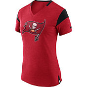Nike Women's Tampa Bay Buccaneers Fan V Red T-Shirt