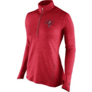 Nike Women's Tampa Bay Buccaneers Stadium Element Red Half-Zip Pullover