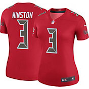 Nike Women's Color Rush 2017 Legend Jersey Tampa Bay Buccaneers Jameis Winston #3