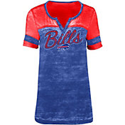 5th & Ocean Women's Buffalo Bills Burnout Royal T-Shirt