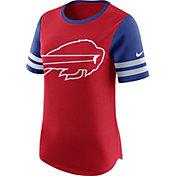 Nike Women's Buffalo Bills Modern Fan Red Short-Sleeve Top
