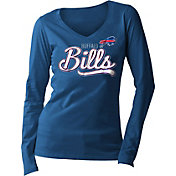5th & Ocean Women's Buffalo Bills Long Sleeve Blue Shirt