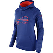 Nike Women's Buffalo Bills Therma-FIT Royal Performance Hoodie