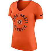Nike Women's Cincinnati Bengals Dri-FIT Touch Orange Performance T-Shirt