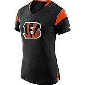 Nike Women's Cincinnati Bengals Fan V Black T-Shirt