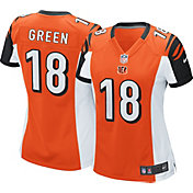 Nike Women's Alternate Game Jersey Cincinnati Bengals A.J. Green #18