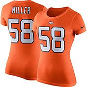 Nike Women's Denver Broncos Von Miller #58 Pride T-Shirt