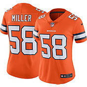 Nike Women's Color Rush Limited Jersey Denver Broncos Von Miller #58