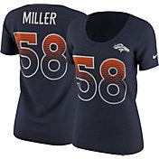 Nike Women's Denver Broncos Von Miller #58 Modern Navy T-Shirt