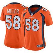 Nike Women's Home Limited Jersey Denver Broncos Von Miller #58