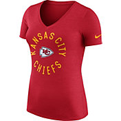 Nike Women's Kansas City Chiefs Dri-FIT Touch Red Performance T-Shirt