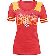 5th & Ocean Women's Kansas City Chiefs Red Tri-Blend T-Shirt
