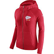 Nike Women's Kansas City Chiefs Gym Vintage Full-Zip Red Hoodie