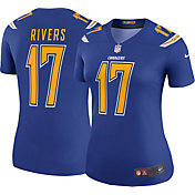 Nike Women's Color Rush 2017 Legend Jersey Los Angeles Chargers Philip Rivers #17