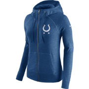Nike Women's Indianapolis Colts Gym Vintage Full-Zip Blue Hoodie