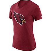 Nike Women's Arizona Cardinals Fan V Red T-Shirt