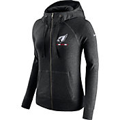 Nike Women's Arizona Cardinals Gym Vintage Full-Zip Black Hoodie