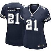 Nike Women's Home Game Jersey Dallas Cowboys Ezekiel Elliott #21
