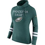Nike Women's Philadelphia Eagles Championship Drive Obsessed Green Pullover