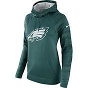 Nike Women's Philadelphia Eagles Therma-FIT Green Performance Hoodie