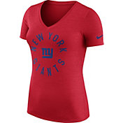 Nike Women's New York Giants Dri-FIT Touch Red Performance T-Shirt