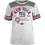 5th & Ocean Women's New York Giants Peppercorn Throwback Grey T-Shirt