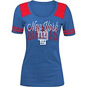 5th & Ocean Women's New York Giants Royal Tri-Blend T-Shirt