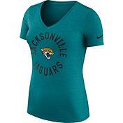 Nike Women's Jacksonville Jaguars Dri-FIT Touch Teal Performance T-Shirt