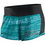 Nike Women's Jacksonville Jaguars Crew Green Performance Shorts