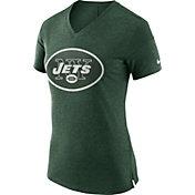 Nike Women's New York Jets Fan V Green T-Shirt