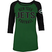 5th & Ocean Women's New York Jets Green Raglan Shirt