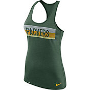 Nike Women's Green Bay Packers Dri-FIT Touch Performance Green Tank Top