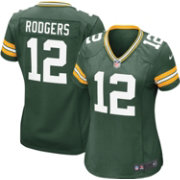 Nike Women's Home Game Jersey Green Bay Packers Aaron Rodgers #12