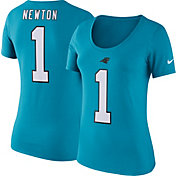 Nike Women's Carolina Panthers Cam Newton #1 Pride T-Shirt