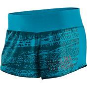 Nike Women's Carolina Panthers Crew Blue Performance Shorts