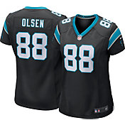Nike Women's Home Game Jersey Carolina Panthers Greg Olsen #88