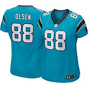 Nike Women's Alternate Game Jersey Carolina Panthers Greg Olsen #88