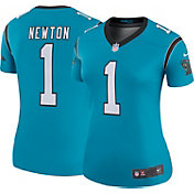 Nike Women's Color Rush 2017 Legend Jersey Carolina Panthers Cam Newton #1
