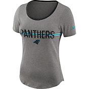 Nike Women's Carolina Panthers Strike Slub Grey T-Shirt