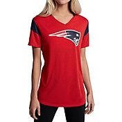 Nike Women's New England Patriots Fan V Red T-Shirt