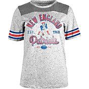 5th & Ocean Women's New England Patriots Peppercorn Throwback Grey T-Shirt