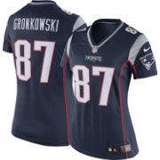 Nike Women's Home Limited New England Patriots Rob Gronkowski #87 Jersey