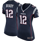 Nike Women's Home Game Jersey New England Patriots Tom Brady #12