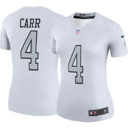 Nike Women's Color Rush Legend Jersey Oakland Raiders Derek Carr #4