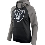 Nike Women's Oakland Raiders Tailgate All-Time Grey Hoodie