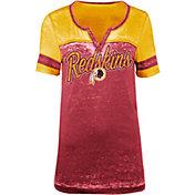 5th & Ocean Women's Washington Redskins Burnout Red T-Shirt