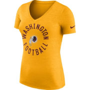 Nike Women's Washington Redskins Dri-FIT Touch Gold Performance T-Shirt