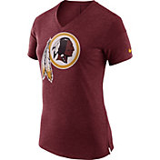 Nike Women's Washington Redskins Fan V Red T-Shirt