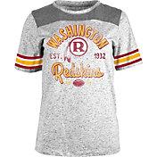 5th & Ocean Women's Washington Redskins Peppercorn Throwback Grey T-Shirt
